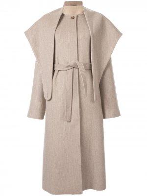 Пальто с кейпом Le 17 Septembre