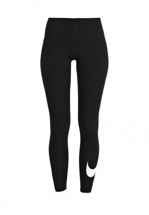 Леггинсы Nike WOMENS SPORTSWEAR LEGGING. Цвет: черный