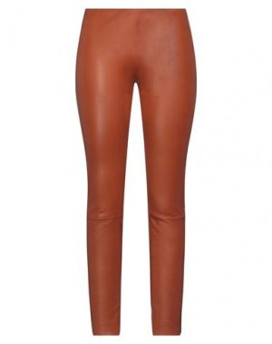 Повседневные брюки JITROIS. Цвет: желто-коричневый
