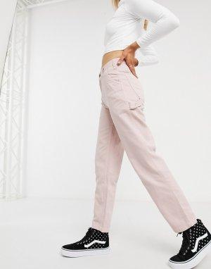 Фиолетовые суженные книзу брюки -Фиолетовый Dickies