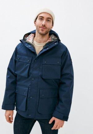 Куртка утепленная Element OVERLOOK. Цвет: синий