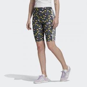 Велосипедки Allover Print Originals adidas. Цвет: разноцветный