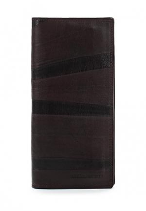 Кошелек Alexander Tsiselsky. Цвет: коричневый