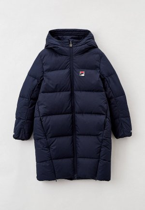 Куртка утепленная Fila. Цвет: синий