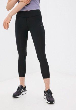 Тайтсы Anta Running Professional. Цвет: черный