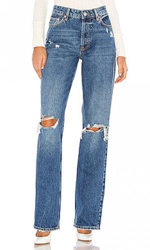 Прямые джинсы wild flower Free People. Цвет: none