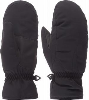 Варежки женские Kata, размер 7 Ziener. Цвет: черный