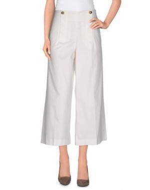 Повседневные брюки LIU •JO. Цвет: слоновая кость