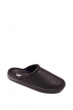 Домашняя обувь Dr.Luigi. Цвет: черный