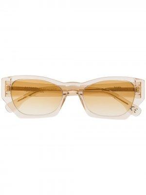 Солнцезащитные очки Amata с логотипом Retrosuperfuture. Цвет: нейтральные цвета