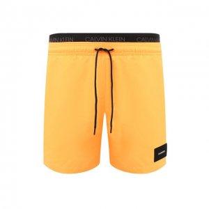 Плавки-шорты Calvin Klein. Цвет: оранжевый