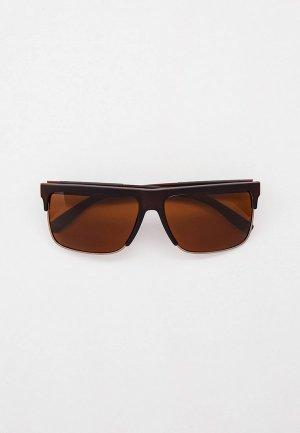 Очки солнцезащитные Matrix с поляризационными линзами. Цвет: коричневый