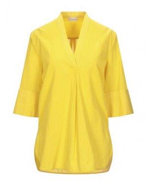 Блузка BY MALENE BIRGER. Цвет: желтый