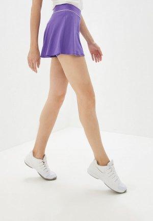 Юбка-шорты Nike COURT DRI-FIT WOMENS TENNIS SKIRT. Цвет: фиолетовый