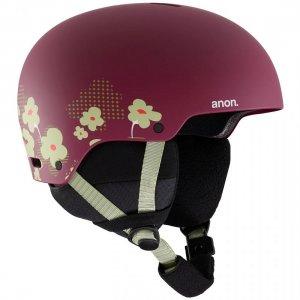 Шлем для сноуборда детский Rime 3 Helmet Anon. Цвет: бордовый