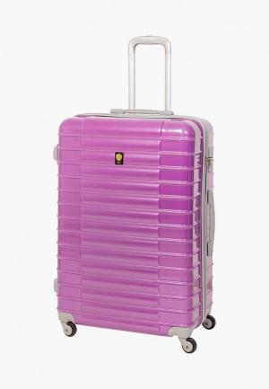 Чемодан Sunvoyage 42 л (S). Цвет: розовый