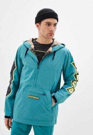 Куртка утепленная Analog M AG CHAINLINK ANK. Цвет: бирюзовый