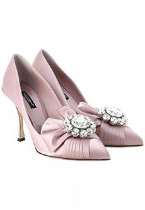 Туфли DOLCE&GABBANA. Цвет: розовый