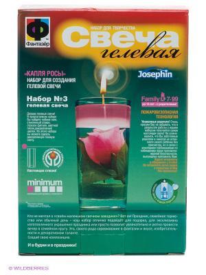 Свеча гелевая Josephine. Цвет: зеленый