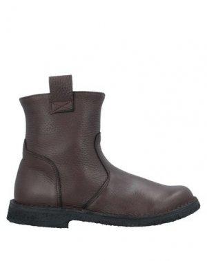 Полусапоги и высокие ботинки EUREKA. Цвет: какао