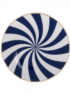 Маленькая тарелка Ruota Bitossi Home. Цвет: белый