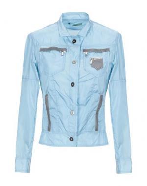 Куртка BLUE DEEP. Цвет: небесно-голубой