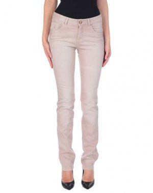 Джинсовые брюки MARANI JEANS. Цвет: голубиный серый