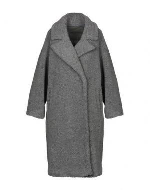 Пальто KENGSTAR. Цвет: серый