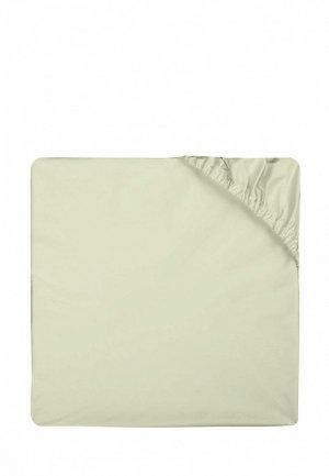 Простыня 2-спальная Bellehome Olive, 180х200x20 см