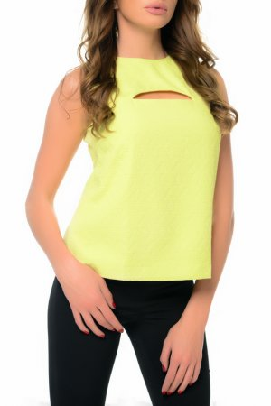Блуза Arefeva. Цвет: желтый