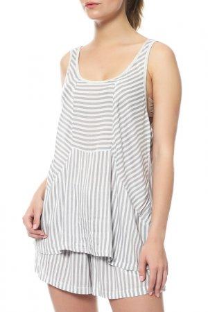 Комплект: майка, шорты DKNY. Цвет: 102