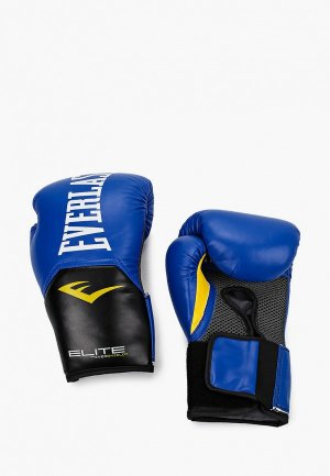 Перчатки боксерские Everlast Elite ProStyle. Цвет: синий