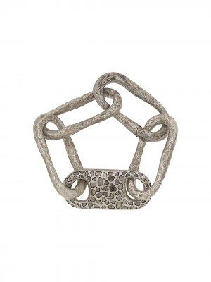 Roman link bracelet Parts of Four. Цвет: серебристый