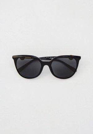 Очки солнцезащитные Versace VE4404 GB1/87. Цвет: черный