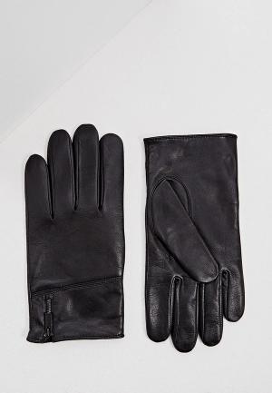 Перчатки Hugo. Цвет: черный