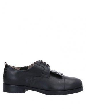 Обувь на шнурках ALBERTO FERMANI. Цвет: черный
