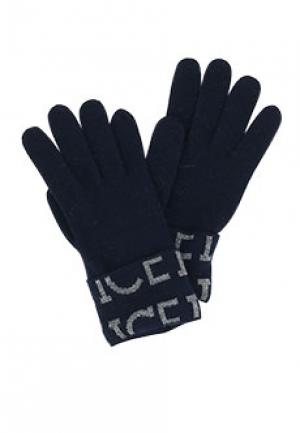 Перчатки ICE ICEBERG. Цвет: синий