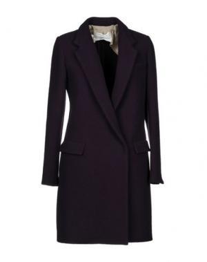 Пальто AQUILANO-RIMONDI. Цвет: баклажанный