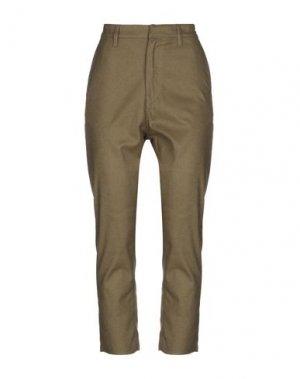 Повседневные брюки ATTIC AND BARN. Цвет: зеленый-милитари