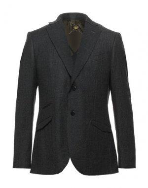 Пиджак MAURIZIO MIRI. Цвет: стальной серый