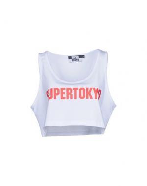 Майка STK SUPERTOKYO. Цвет: белый