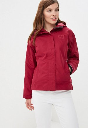 Ветровка Helly Hansen W SEVEN J JACKET. Цвет: бордовый