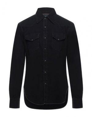 Джинсовая рубашка ACNE STUDIOS BLÅ KONST. Цвет: черный