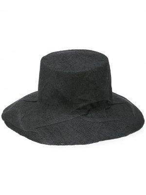 Соломенная шляпа Strega Reinhard Plank. Цвет: серый