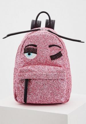 Рюкзак Chiara Ferragni Collection. Цвет: розовый