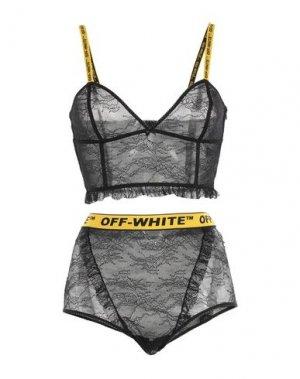 Комплект белья OFF-WHITE™. Цвет: черный
