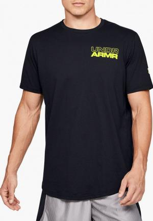 Футболка Under Armour UA BASELINE PHOTOREAL GRAPHIC TEE. Цвет: черный