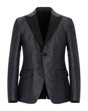 Пиджак VERSACE COLLECTION. Цвет: стальной серый