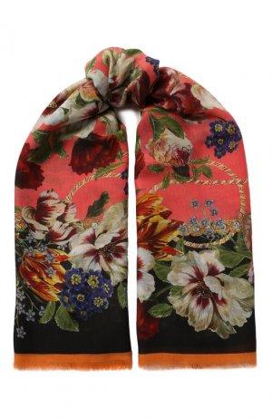 Платок Dolce & Gabbana. Цвет: разноцветный