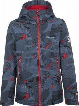 Куртка софтшелл для мальчиков , размер 152 Outventure. Цвет: серый